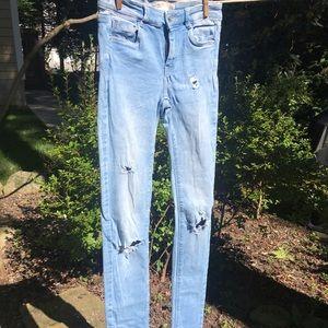Light Wash Stretch Jeans